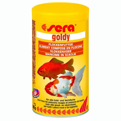Cibo pesci goldy 100ml for Cibo per pesci tropicali