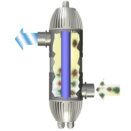 Lampada uv c 8w per filtro prexo for Filtri da laghetto