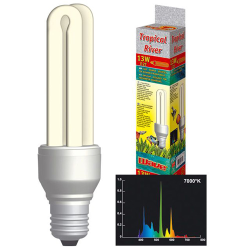 Acquari illuminazione lampade lampada acquario tropical for Lampada acquario