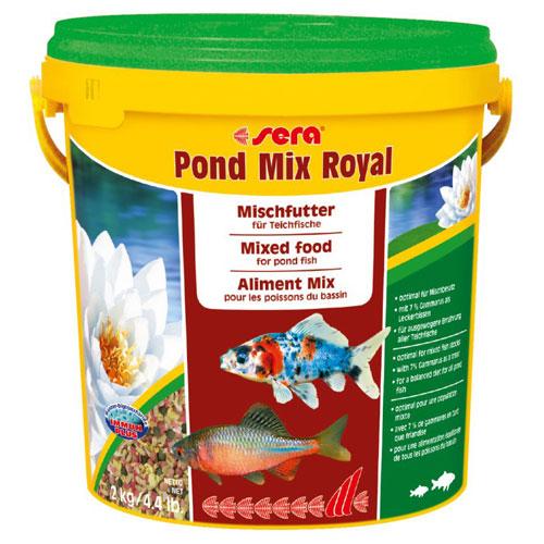 Cibo pesci mix royal 10l for Cibo per pesci tropicali