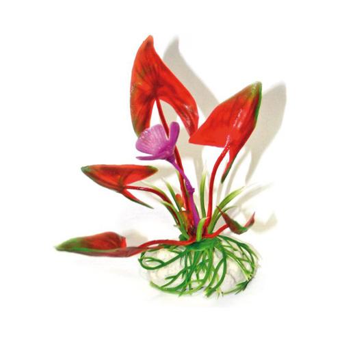 Pianta acquario plant classic trapa natans bottom lg 8011091 for Piante finte per acquario