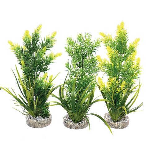 Acquari decorazioni e fondo piante finte pianta acquario for Piante finte per acquario
