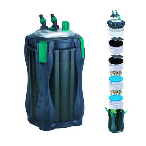 Acquari pompe e filtri esterni filtro esterno kanist 700 for Pompe per laghetti esterni