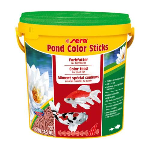 Cibo pesci color stick 10l for Cibo per pesci tropicali
