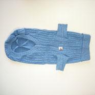 Maglione Cane Berna Azzurro 20