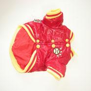 Cappotto Cane Aspen Rosso/Giallo 20