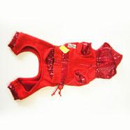 Tuta Cane Trendy Fit Rosso 15